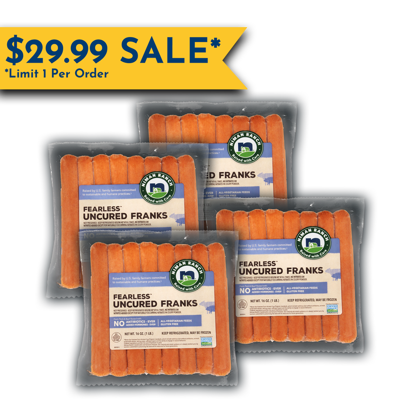 Niman Ranch Pork and Beef Franks Value Bundle image number 0