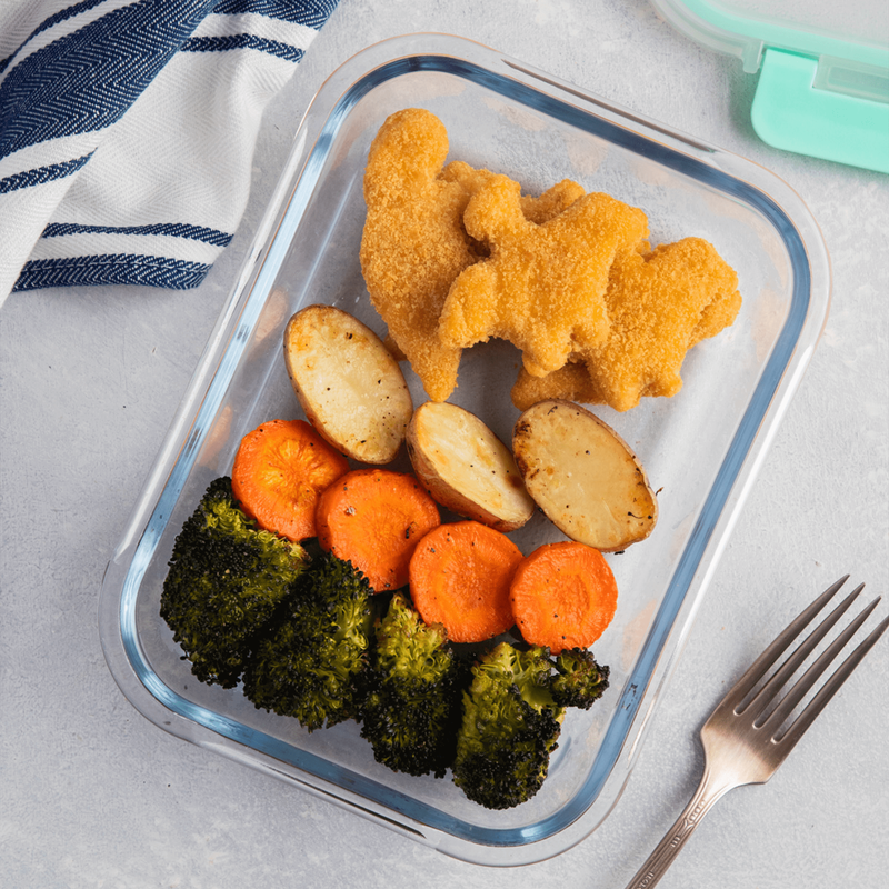 Yummy Dino Buddies All Natural Dinosaur-Shaped Chicken & Veggie Nuggets image number 1