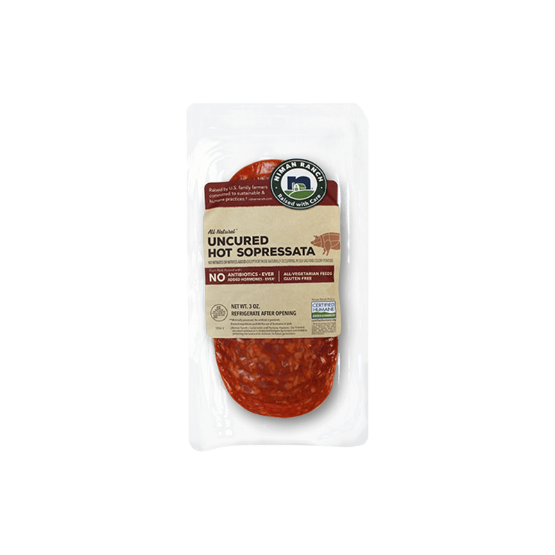 Niman Ranch Uncured Hot Sopressata image number 1