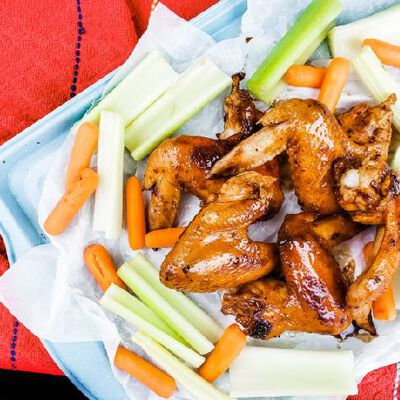 Slow Cooker Cola Wings