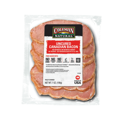 Coleman Natural Canadian Bacon