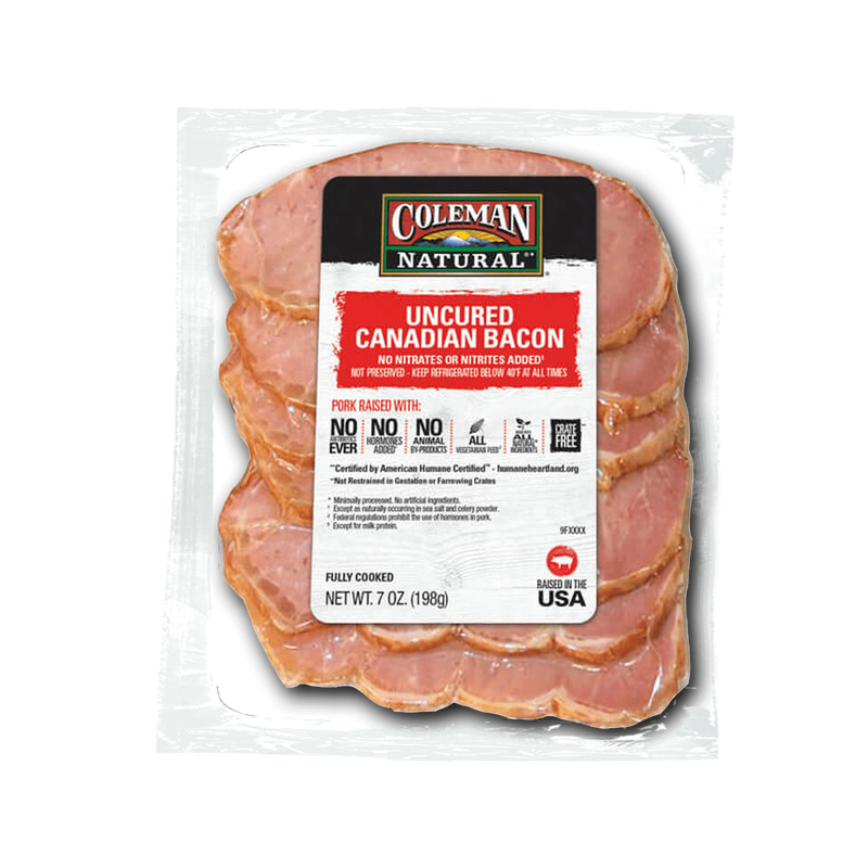Coleman Natural Canadian Bacon image number 0