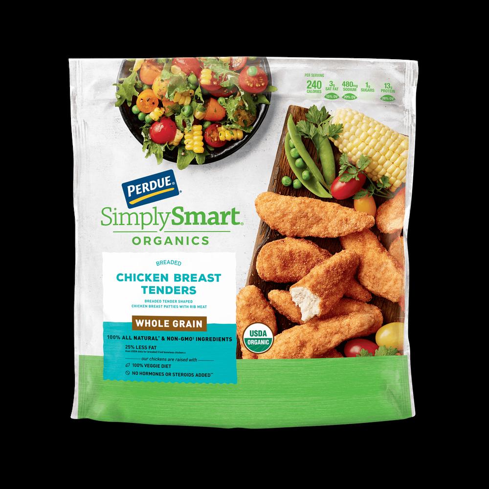 Perdue SimplySmart Organics Whole Grain Chicken Breast Tenders image number 0