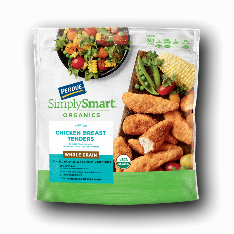 Perdue SimplySmart Organics Whole Grain Chicken Breast Tenders image number 0