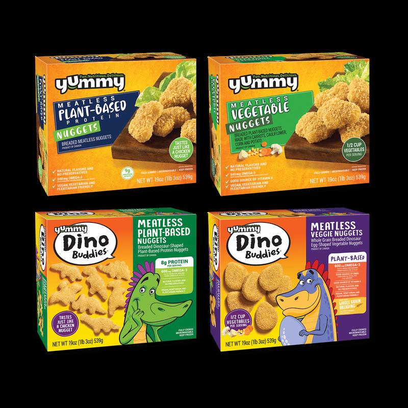 Yummy Plant-Based Nuggets Bundle image number 0