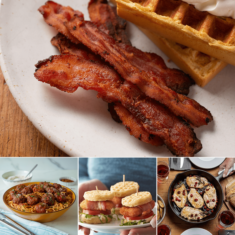 Family Favorites Chicken, Beef and Bacon Bundle image number 1