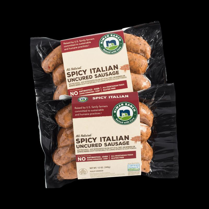 Niman Ranch Spicy Italian Sausage image number 0