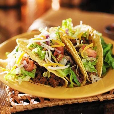 Homemade Ground Beef Tacos
