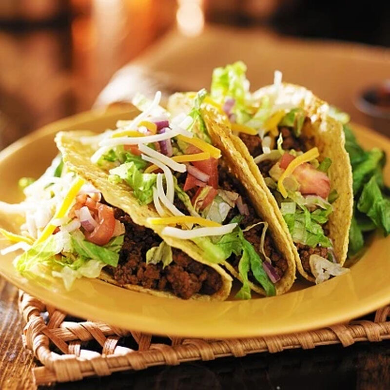 Homemade Ground Beef Tacos image number 0