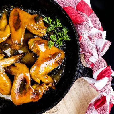 Maple Mustard Wings
