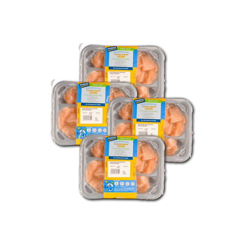 Bulk Perdue Fresh Cuts Diced Chicken Breasts image number 1