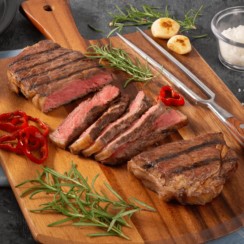 Niman Ranch 14-oz. New York Strip Steak, Choice image number 1