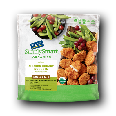 Perdue SimplySmart Organics Whole Grain Chicken Breast Nuggets