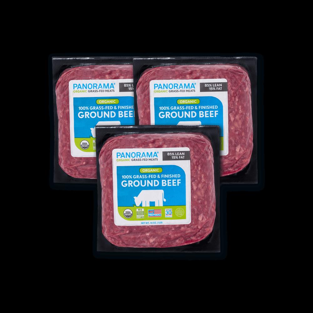 Panorama Organic Grass-Fed Ground Beef Bundle image number 0