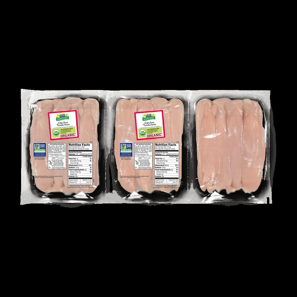 Perdue Harvestland Organic Chicken Breast Tenderloins Pack image number 0