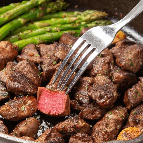 Panorama Organic Grass-Fed Beef Filet Bites