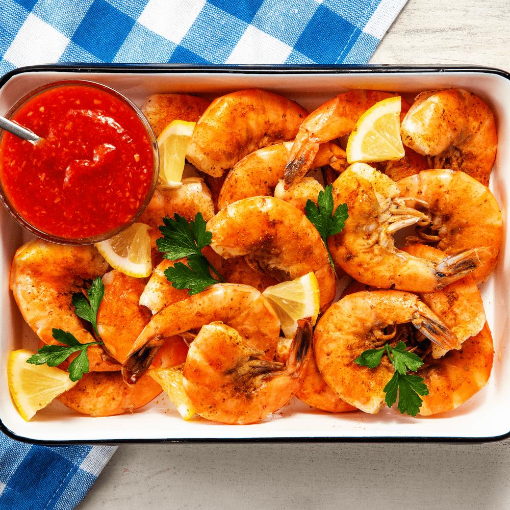 Jumbo Shell-On Shrimp image number 1