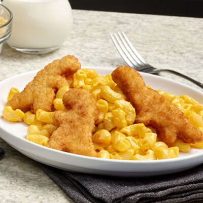 Chicken and Veggie Nugget Mac and Cheese