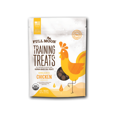 Full Moon Organic Chicken Training Treats For Dogs