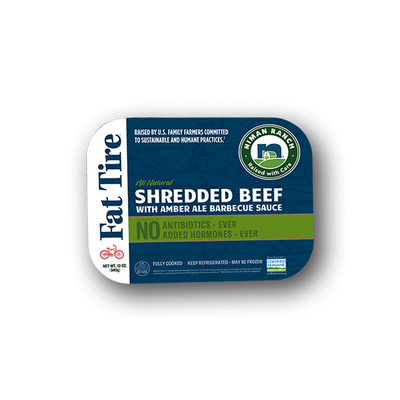 Niman Ranch Fat Tire Shredded Beef