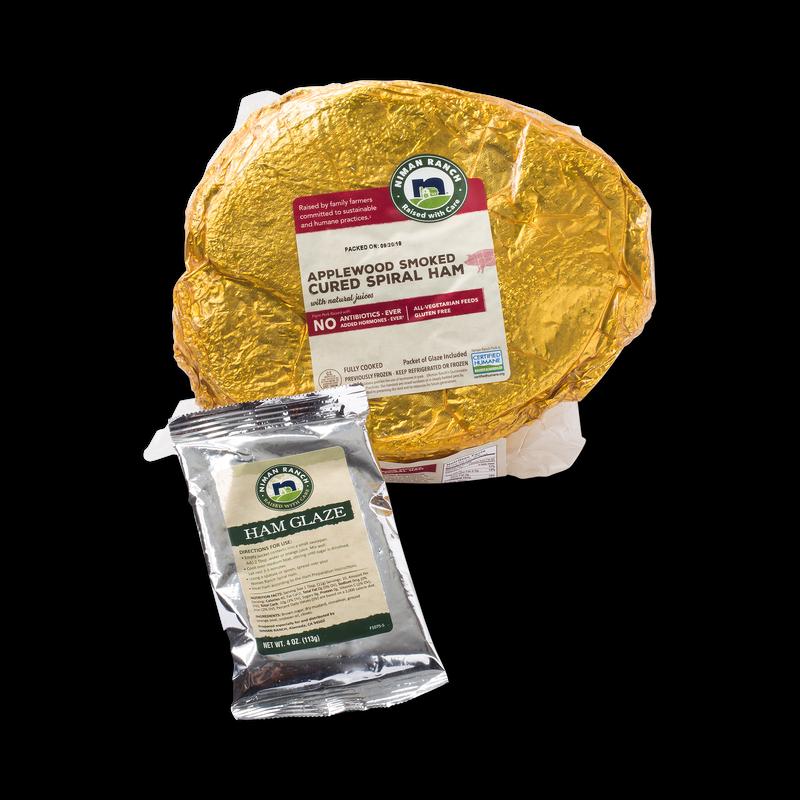 Niman Ranch Applewood Smoked Cured Ham image number 1