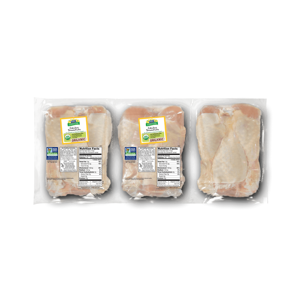 Perdue Harvestland Organic Chicken Drumsticks Pack image number 0
