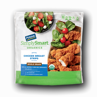Perdue SimplySmart Organics Whole Grain Chicken Breast Strips