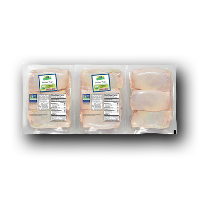 Perdue Harvestland Organic Bone-In Chicken Thighs Pack