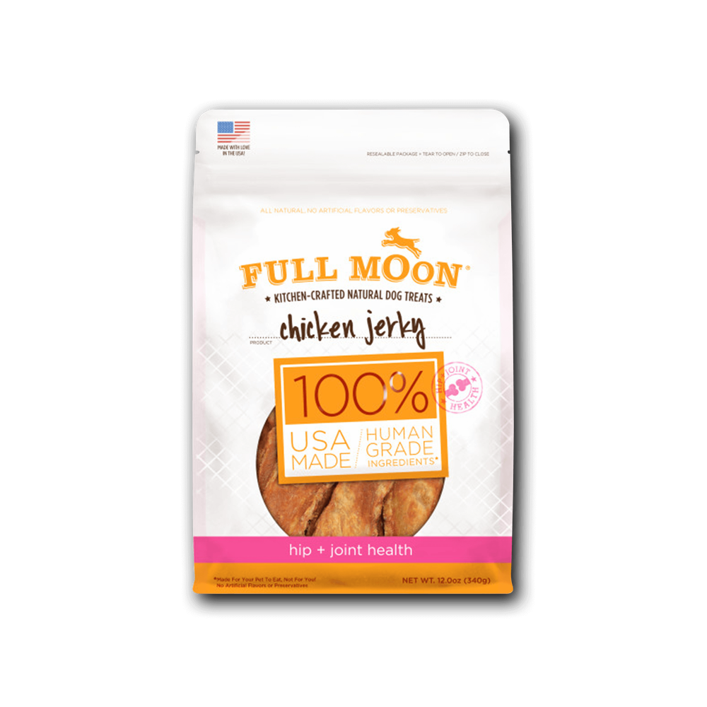 Full Moon Chicken Jerky Hip + Joint Dog Treats image number 0