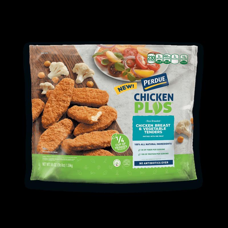 Perdue Chicken Plus Chicken Breast and Vegetable Tenders image number 2