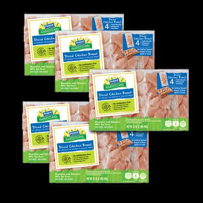 Premium Diced Chicken Breasts Bundle