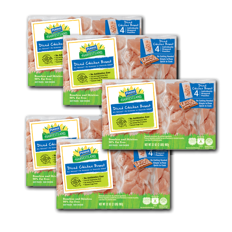 Premium Diced Chicken Breasts Bundle image number 0