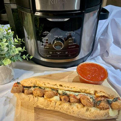 Gluten-Free Chicken Parmesan Sub