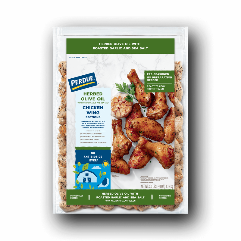 Perdue Herbed Olive Oil Chicken Wings image number 0