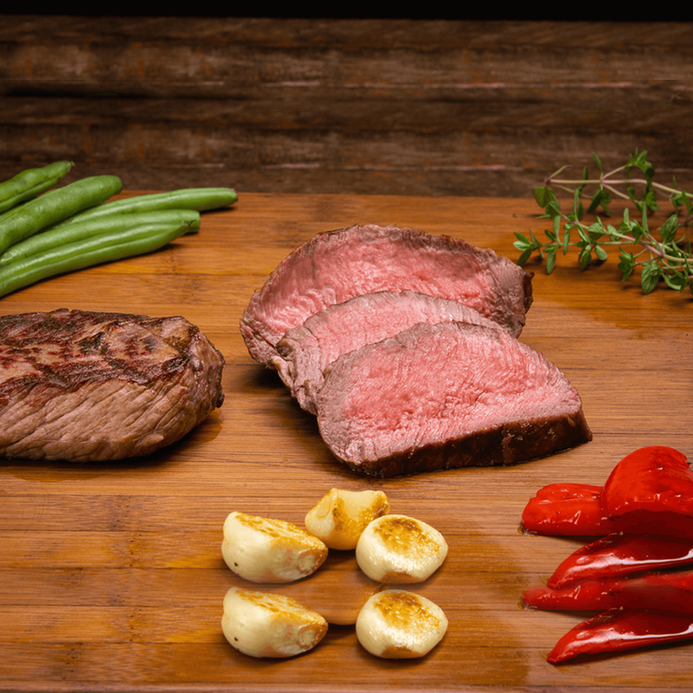 Panorama Organic Grass-Fed Beef Sirloin Steaks image number 4