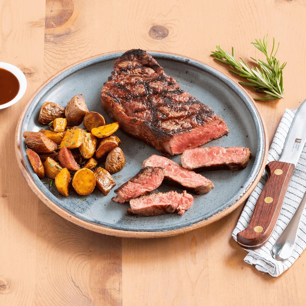 Niman Ranch New York Strip Steak, Prime image number 0