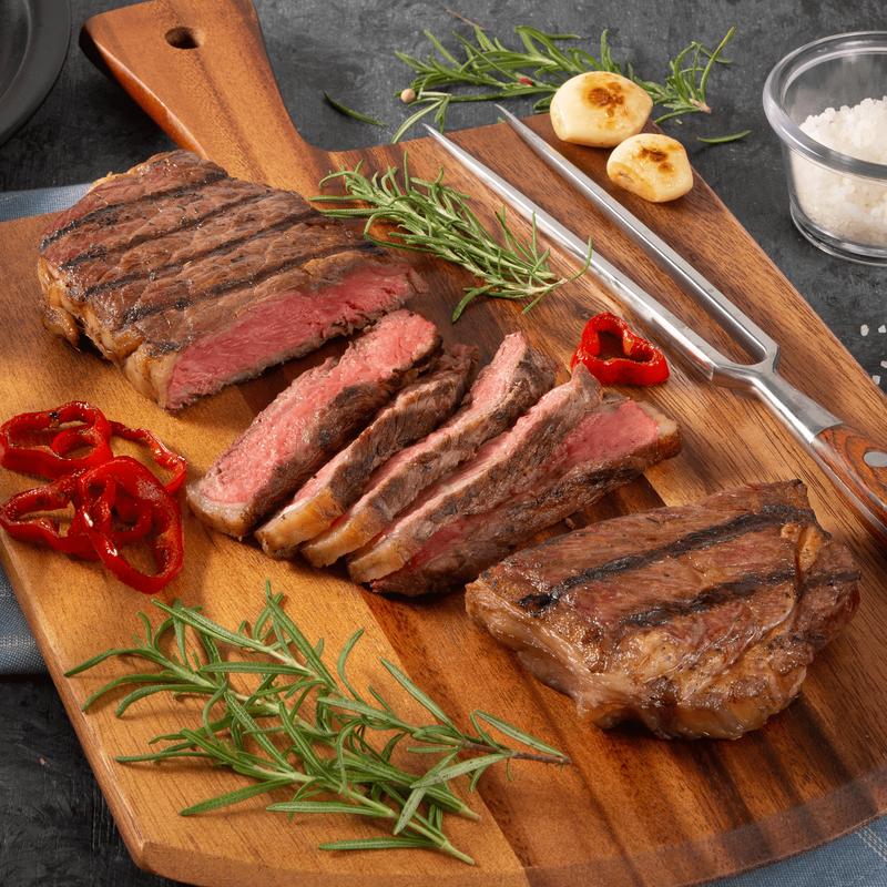 Niman Ranch Strip Steak Dinner image number 0