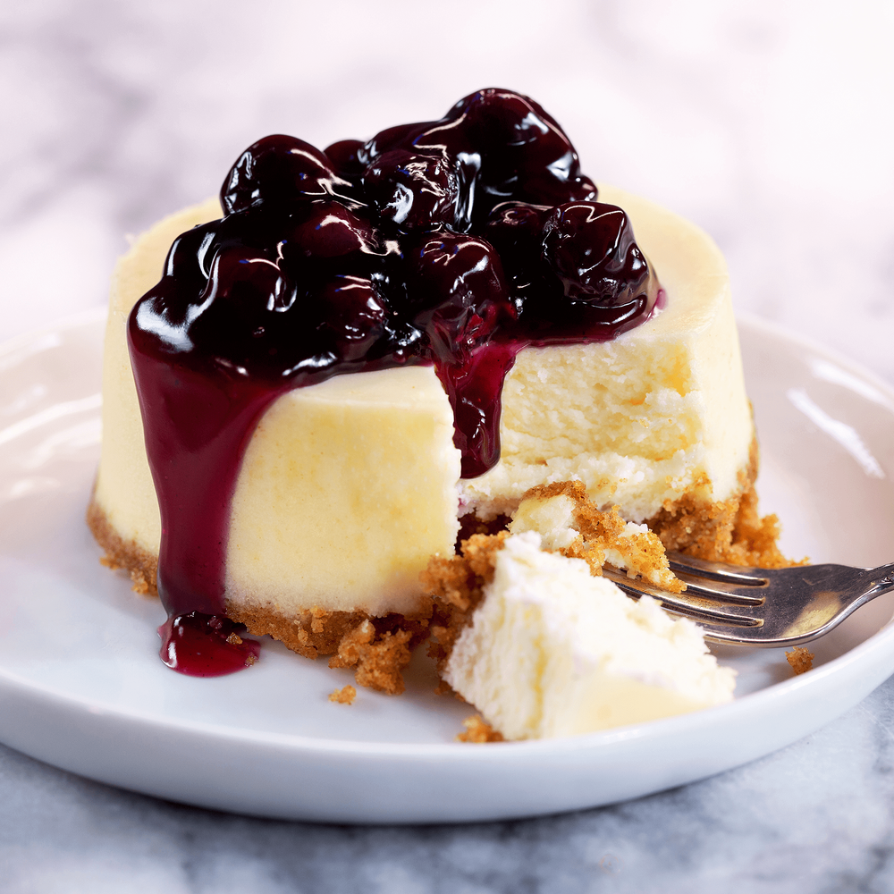 Individual New York Cheesecakes image number 1