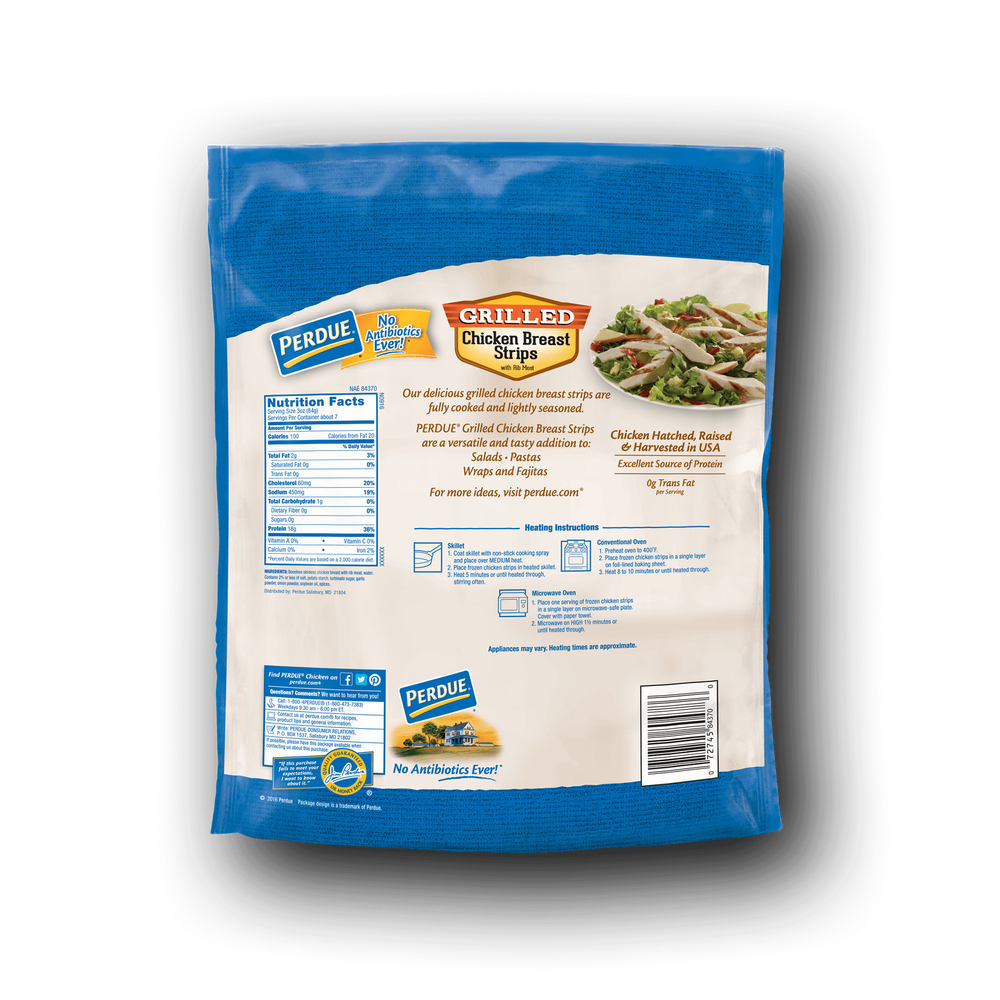 Perdue Frozen Grilled Chicken Strips image number 2