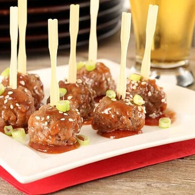 Classic Bourbon-Infused Cocktail Meatballs