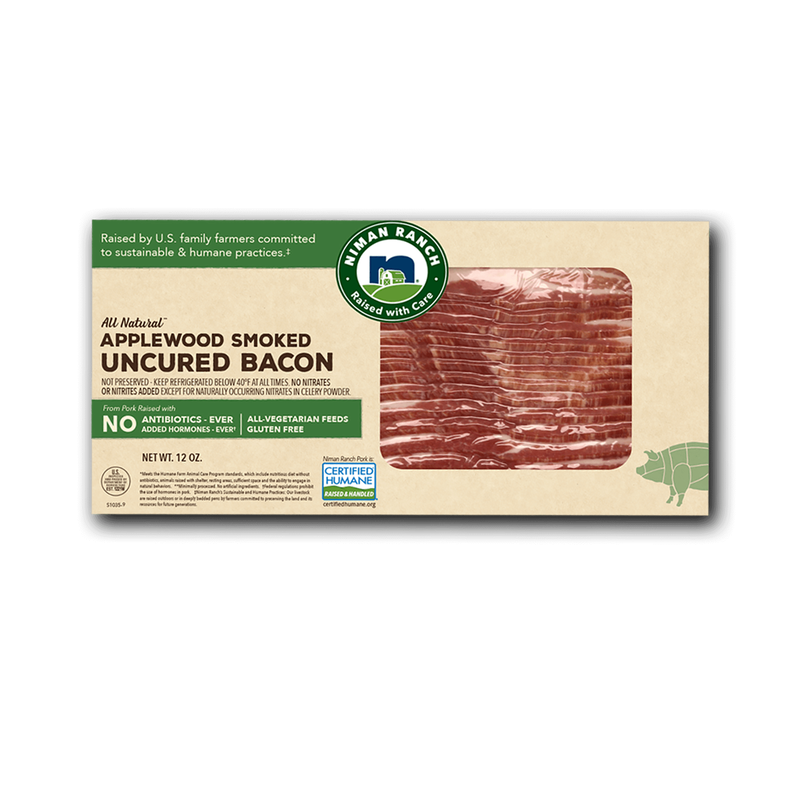 Niman Ranch Applewood Smoked Uncured Bacon image number 0