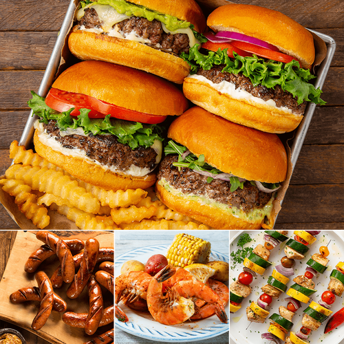 Meats and Seafood Starter Pack