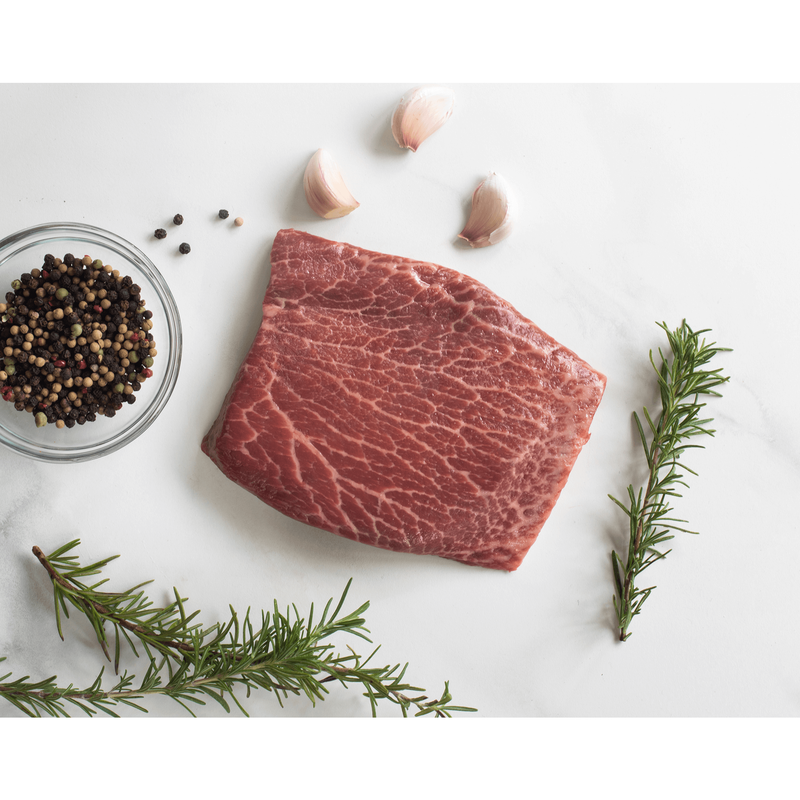 Niman Ranch 7-oz. Flat Iron Steak, Choice image number 1