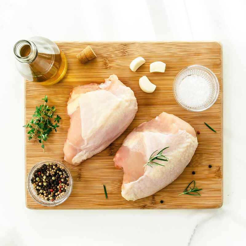 Pasturebird Pasture Raised Bone-In Split Chicken Breasts image number 3