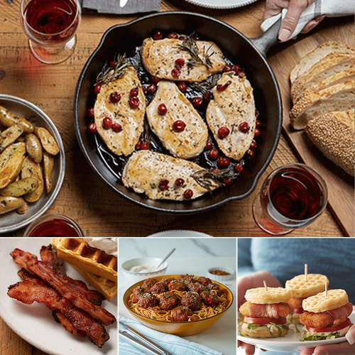 Family Favorites Chicken, Beef and Bacon Bundle