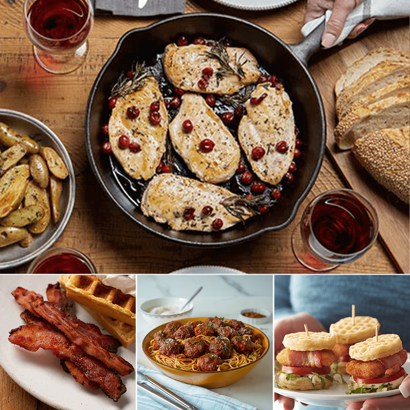 Family Favorites Chicken, Beef and Bacon Bundle image number 0
