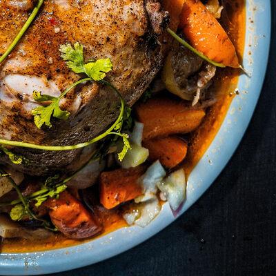 Dutch Oven Turkey Breast