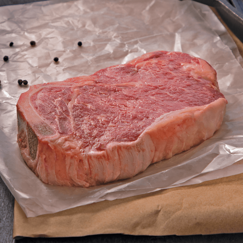 Niman Ranch Bone-In Strip Steak image number 3