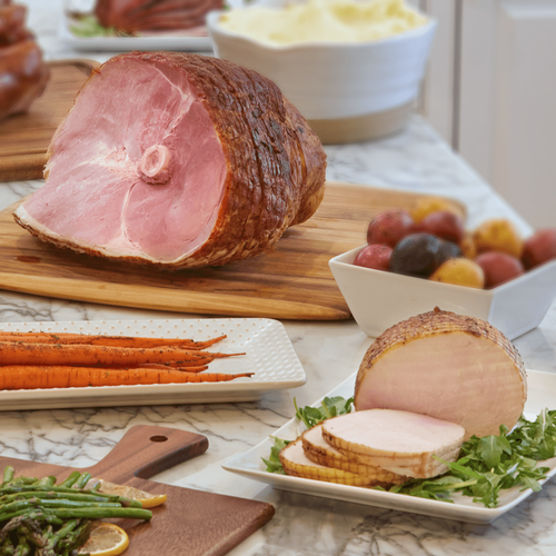 Farm to Table Spiral Ham and Turkey Roast Combo