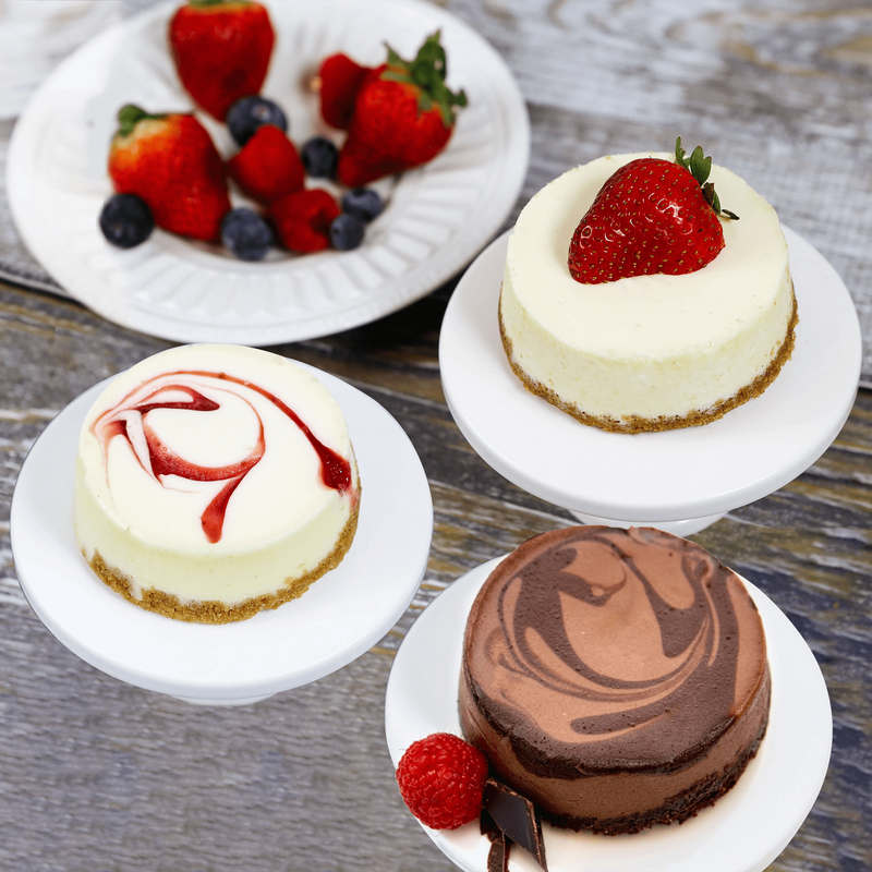 Individual Assorted Cheesecakes image number 0